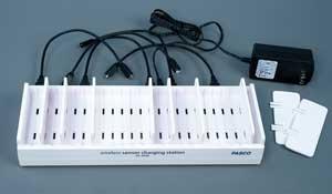 Laddstation för trådlösa sensorer