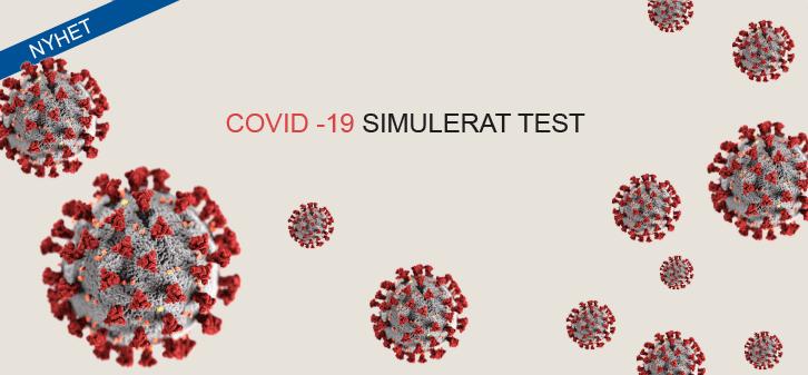 Edvotek Covid-19 simulerat test