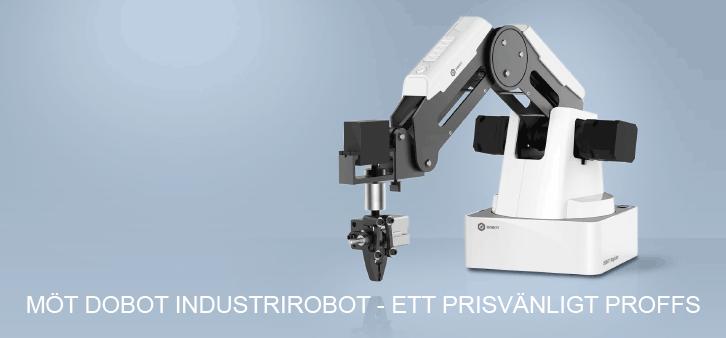 Möt Dobot Industrirobot - ett prisvänligt proffs
