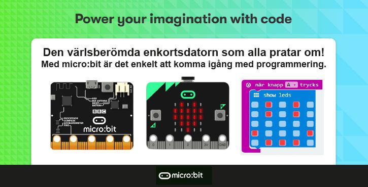 micro:bit - programmering i skolan