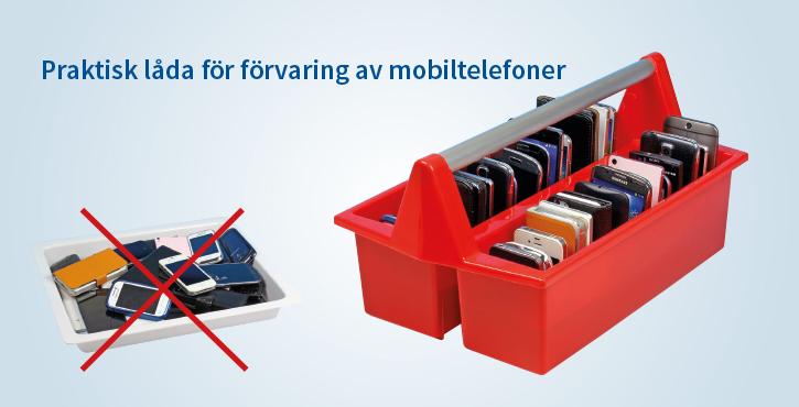Mobildagis mobilhotell mobiltelefonförvaring