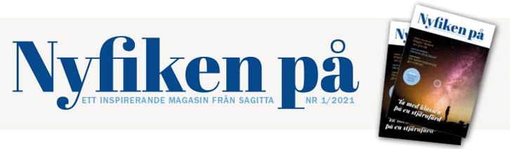 Ett inspirerande magasin från Sagitta