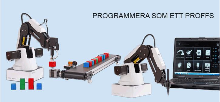 Programmera som ett proffs med Dobot