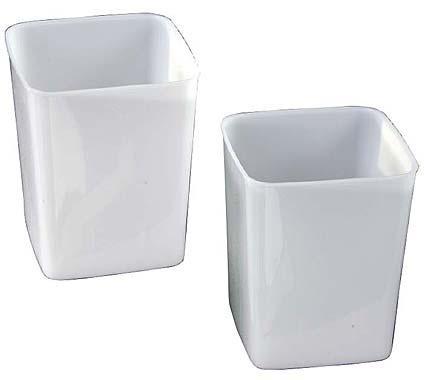 3-Liter Plastic Tub (2 Pack)