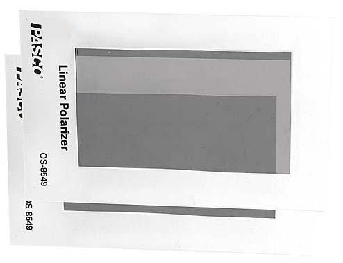 Linear Polarizer (2 pack)