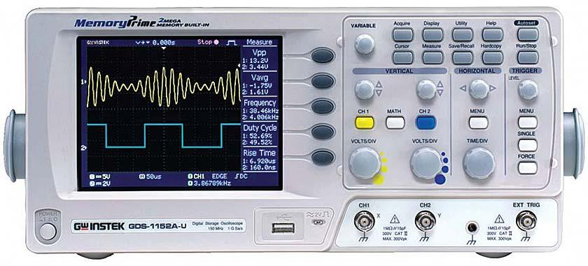 Digital Storage Oscilloscope (100 MHz)
