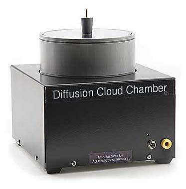 Diffusion Cloud Chamber without Source