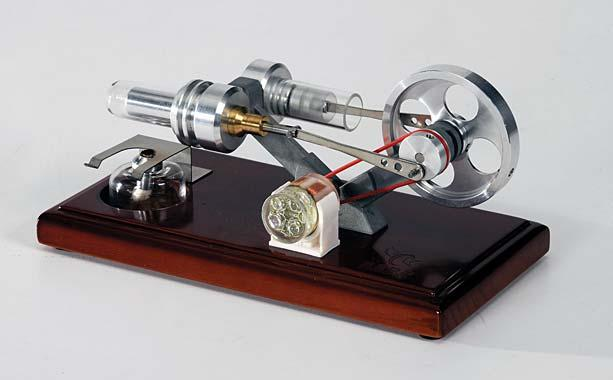 Glass Stirling Engine