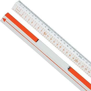Four Scale Meter Stick