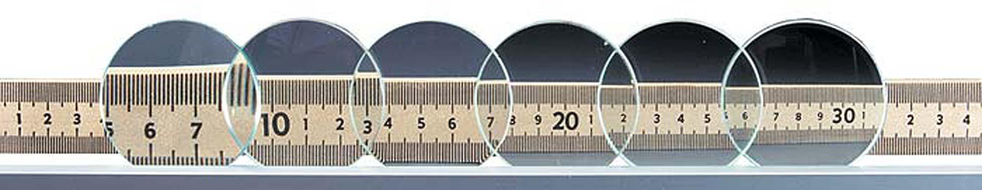 Ground Glass Lenses (Set of 6)