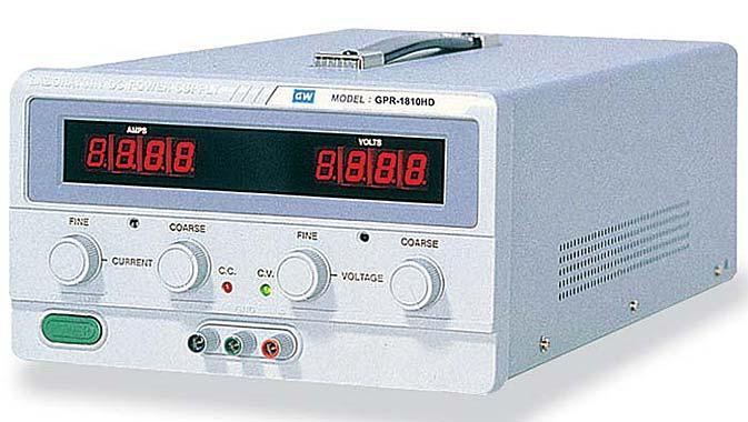Power Supply (30 V DC, 6 A)