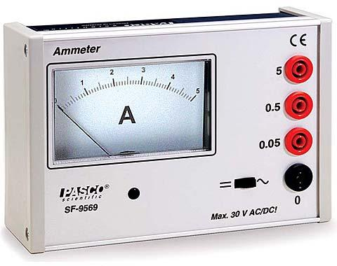Heavy-Duty Ammeter