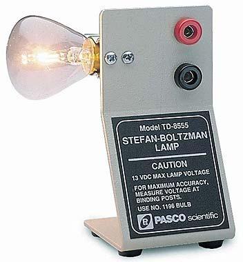 Stefan-Boltzmann Lamp