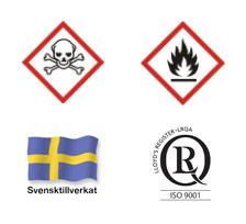 Kemikalie-/giftskåp H2095xB600xD600
